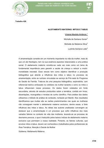 aleitamento materno: mitos e tabus - Redesindical.com.br