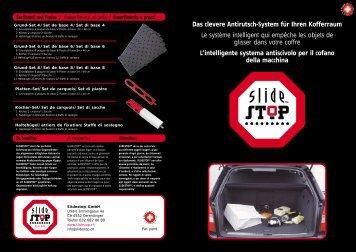 Das clevere Antirutsch-System für Ihren Kofferraum Le système ...