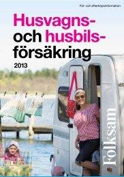 Husvagns- ochhusbils- försäkring - Folksam