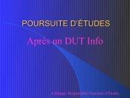 QUELLE POURSUITE D'ETUDES - Les Universités à Aix en Provence