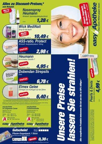 zu Discount-Preisen - easyApotheke AG