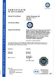 Institut Straumann AG ISO 13485