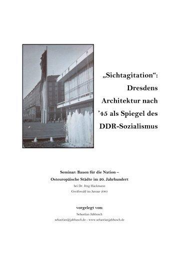Dresdens Architektur nach - Sebastian Jabbusch
