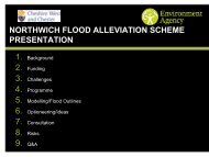 Northwich Flood Defences Presentation Slides - West Cheshire ...
