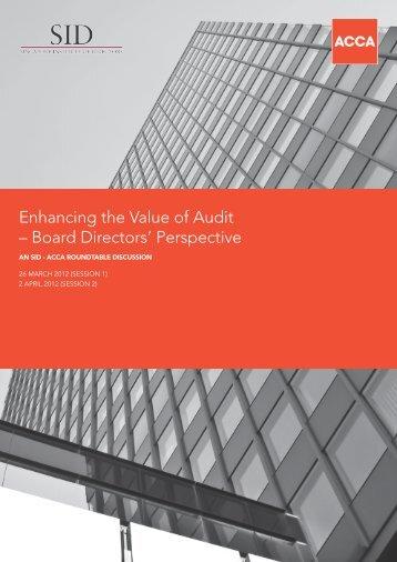 Other Report - Singapore Institute of Directors