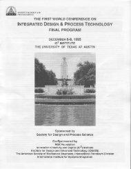 lrurecRnreD DESTcN & PRocESS Tecnruolocy - SDPS