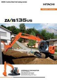 ZAXIS-5 series Short-tail-swing version - Nasta AS