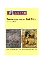 Tourismuskonzept der Stadt Zittau November 2011