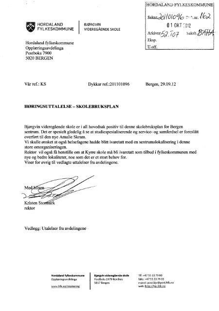 Bjørgvin videregående skole.pdf - Hordaland fylkeskommune