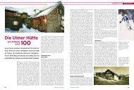 Die Ulmer Hütte am Arlberg 100 wird - Deutscher Alpenverein