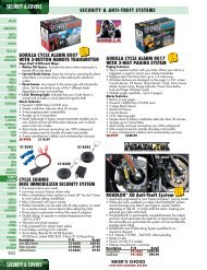 Security & Covers - Harley-Davidson® Parts and Accessories