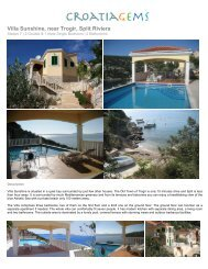 Villa Sunshine, near Trogir, Split Riviera - CroatiaGems