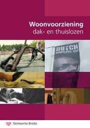 Woonvoorziening dak- en thuislozen - Gemeente Breda