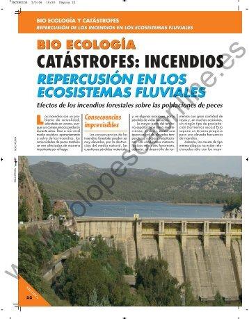 catástrofes: incendios catástrofes: incendios - Solopescaonline.es