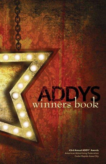 winners book - American Advertising Federation: Cedar Rapids ...