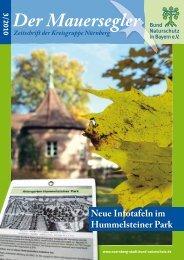 Der Mauersegler - Bund Naturschutz in Bayern eV: Home