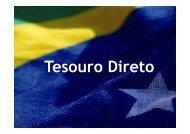 Apresentação Realizada no II Workshop de ... - Tesouro Nacional