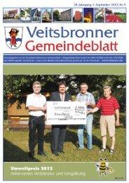 Enderndorf am Brombachsee Wanderführer: Erhard ... - Veitsbronn