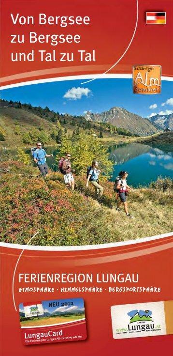 Von Bergsee zu Bergsee - Ferienregion Lungau