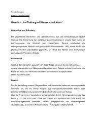 """Weleda − """"Im Einklang mit Mensch und Natur"""""""