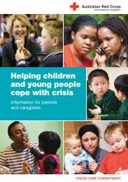 Helping children and young people cope with crisis - Australian Red ...