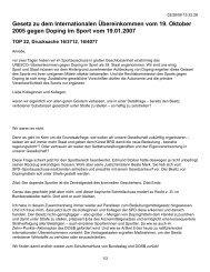 Gesetz zu dem Internationalen Übereinkommen vom 19. Oktober ...