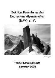 Sektion Rosenheim Des Deutschen Alpenvereins (DAV)
