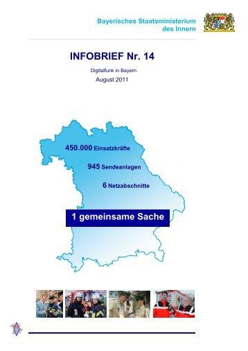 INFOBRIEF Nr. 14 - Bayerisches Staatsministerium des Innern