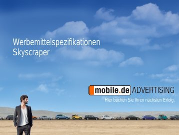 Skyscraper - mobile.de Advertising