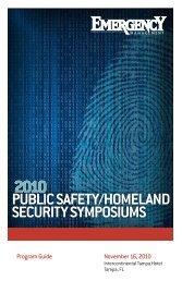 PUBLIC SAFETY/HOMELAND SECURITY SYMPOSIUMS - Navigator