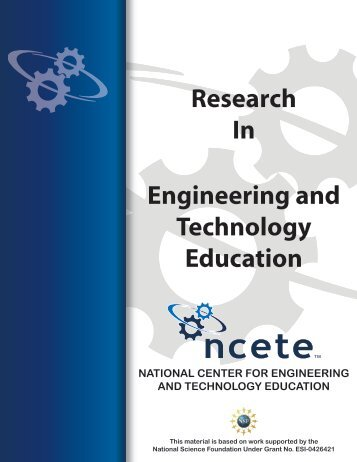 Engineering student outcomes for grades 9-12. - National Center for ...