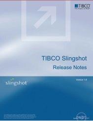 TIBCO Slingshot Release Notes - TIBCO Product Documentation