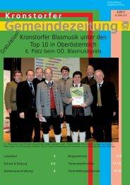 Folge 4/2011 - Kronstorf