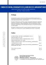 Año 4 - Facultad de Derecho - Universidad de Buenos Aires