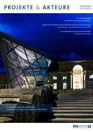 Projekte & Akteure 13/2012 - Ipro Dresden Planungs