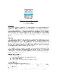 Job Description Finance and Administration Assistant U.S. ...