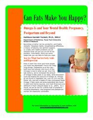 fats happy postpartum 2009 - Breastfeeding Made Simple