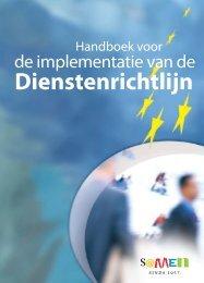 Handboek voor de implementatie van de dienstenrichtlijn - Europa