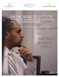 ON THE ROAD TO SUCCESS - Jobs for the Future