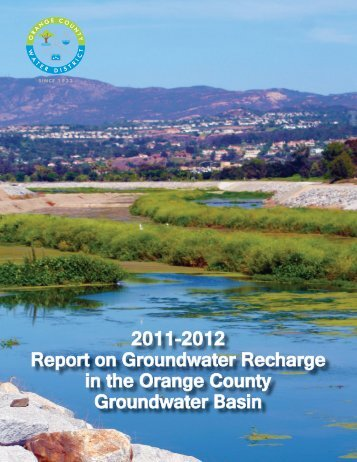 FY 11-12 Annual Recharge Report - Orange County Water District
