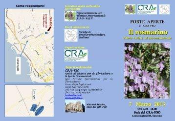 Porte aperte - Istituto Sperimentale per la Floricoltura