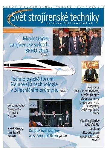 Svět strojírenské techniky číslo 3/2011 (PDF, 11.96 MB) - Svaz ...