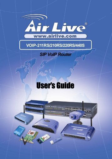 VoIP-211RS - AirLive