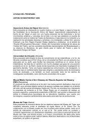 Lista completa de las ayudas destinadas (PDF) - Casa Asia