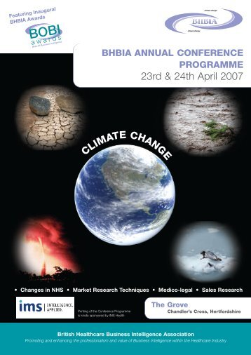 View the 2007 Conference Programme - Guidelines