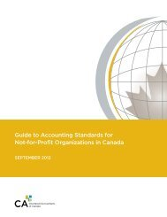 Guide to Accounting Standards for Not-for-Profit Organizations in ...