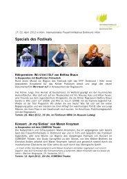 02. März 2012: Specials des Festivals - Internationales ...
