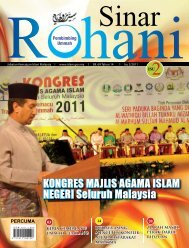 KONGRES MAJLIS AGAMA ISLAM NEGERI Seluruh Malaysia