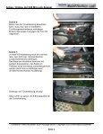 Anbau / Umbau der E46 M3-Look Spiegel WARNUNG TEIL A ... - Page 3