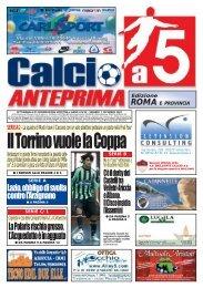 calcio a 5 anteprima 43/07